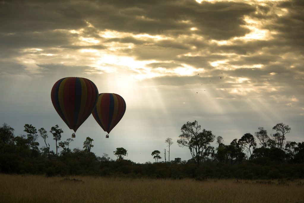 Ballooning by Angama